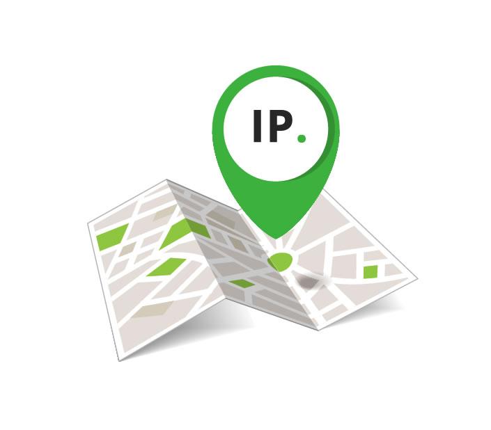 IP GEO lokace